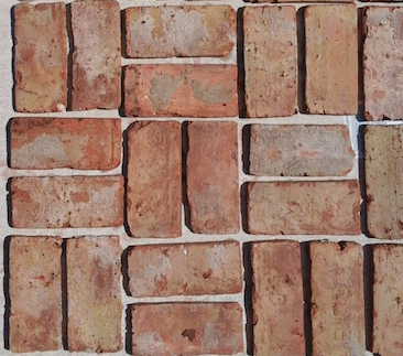 Chicago Brick tile - Antique - Miami Stone Installer sample board