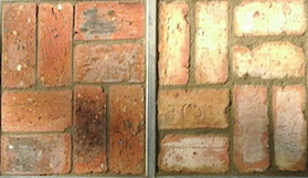 Chicago brick tile - Ref. Antique- Ref. Fossil