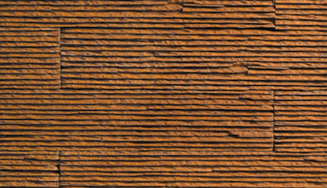 Cultured Manufactured Stone Veneer Wall Siding - Wood Stack - Mocha Brown - US $6.99