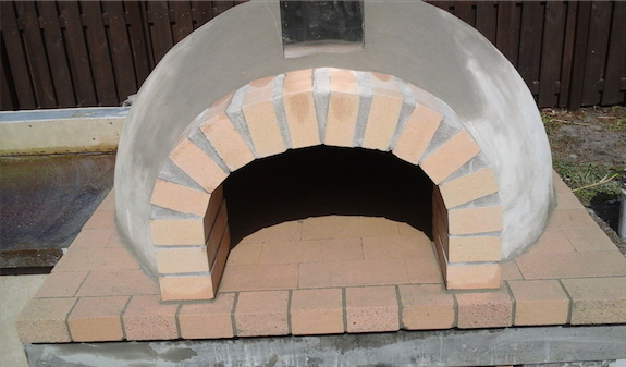 Deep pocket pizza oven 2 - Miami stone installer
