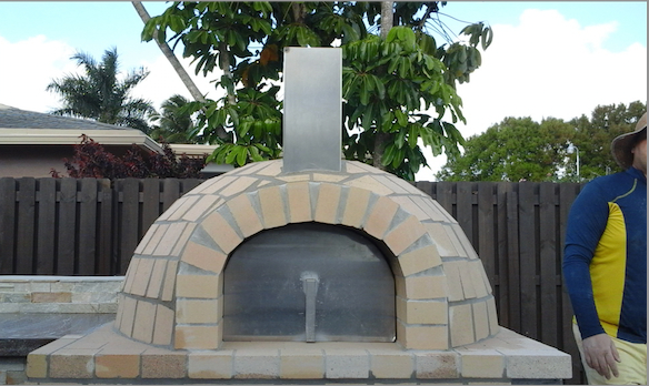 Deep pocket pizza oven - Miami stone installer