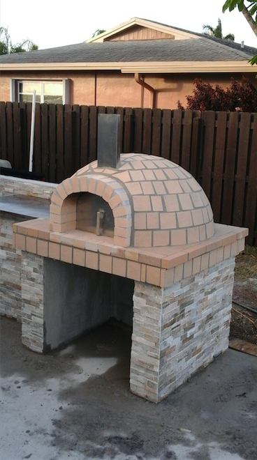 Fire Brick Oven -Deep pocket Pizza Oven