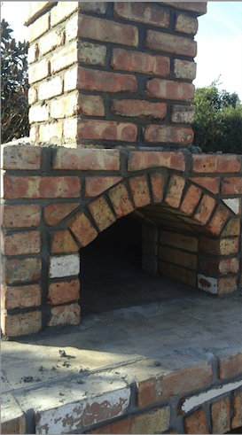 Miami Stone Installer - cultured Stone Stove 2med