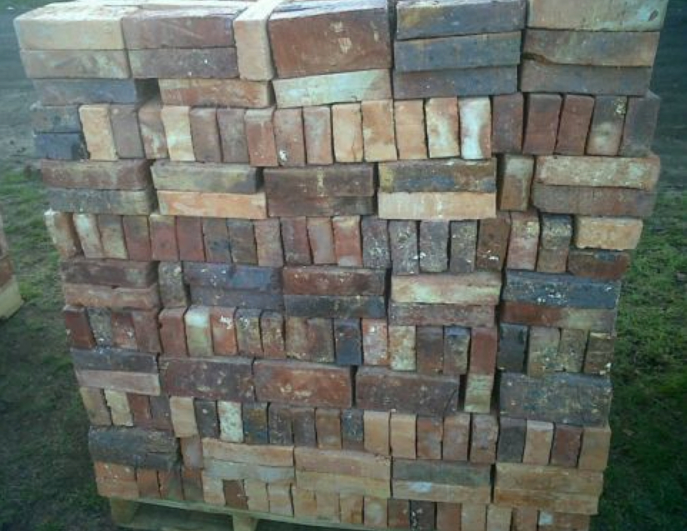 RUSTIC REAL CLAY BRICK PAVERS 1