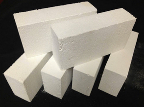 "2lb Insulating-FireBrick-Thermal-Ceramics-K-23 9X4-5 - 4.04-ARCH-Indiv-BRICKS- 2.5"" Thick rated to 2300 degree working temp IMPORTANT, KEY BRICKS like for an ARCH or circle"
