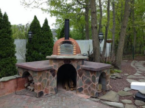 Brick Pizza Oven, Outdoor, Insulated, Wood Fired, Made in Portugal US $1,500.00 (OLD CHICAGO BRICK VENEER TILE & PAVERS)