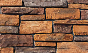 Cultured Manufactured Stone Veneer Wall Siding – Cliffstone – Chestnut 8 DISCOUNT STONES (CULTURED MANUFACTURED STONE)