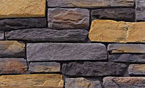 Cultured Manufactured Stone Veneer Wall Siding - Cliffstone - Wolf Creek 7 - DISCOUNT STONES