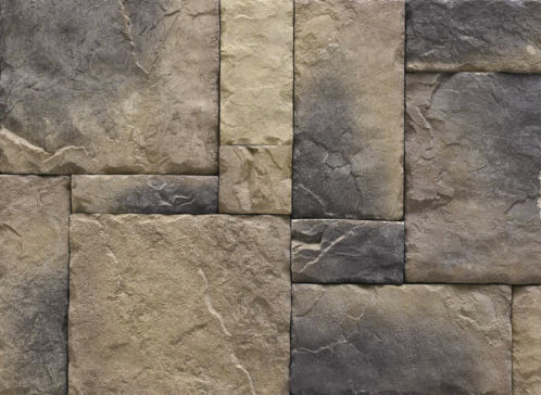 Cultured Manufactured Stone Veneer Wall Siding - European Castle 3 discount stones