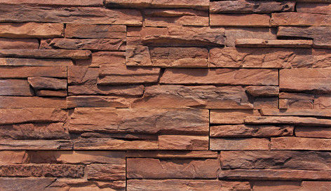 Cultured Manufactured Stone Veneer Wall Siding - Stackstone - Autumn 5
