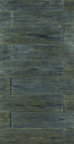 Cultured Manufactured Stone Veneer Wall Siding - Wooden Brick - Grey Moon 1-DISCOUNT STONES