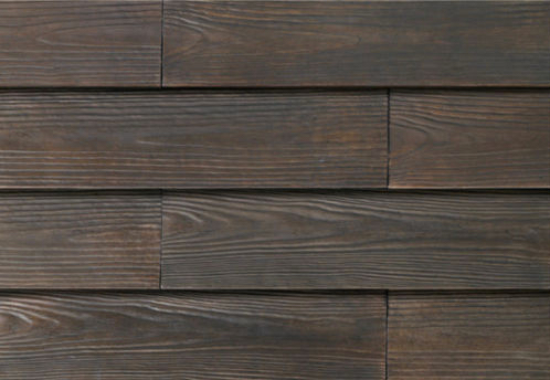 Cultured Manufactured Stone Veneer Wall Siding - Wooden Brick