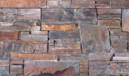 Natural Stone Stacked Wall Siding-Rough Cut Slate-New Mexico US $8.99 sq. ft.