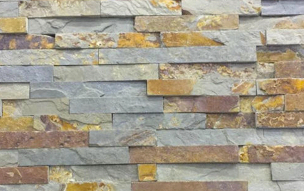 Natural Stone Stacked Wall Siding - Slate - Valcom- US $8.99-FREE SHIPPING on orders 500 SQ. FT. or more 3