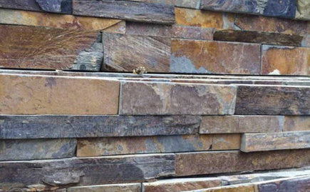 Natural Stone Stacked Wall Siding - Slate - Wolf Den-US $8.99 FREE SHIPPING on orders 500 SQ. FT. or more