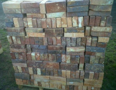 Real Clay Rustic Brick Pavers