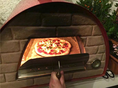 Portable - mobile European Pizza Oven
