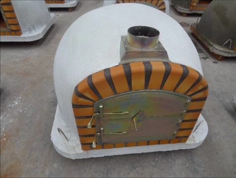 Insulated Wood fired brick Pizza ovens 2