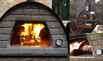 portuguese wood fired brick pizza oven Maximus