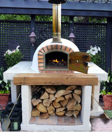 portuguese wood fired brick pizza oven 1