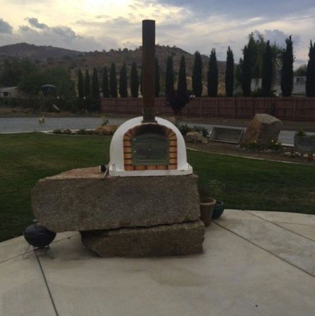 portuguese wood fired brick pizza oven 3