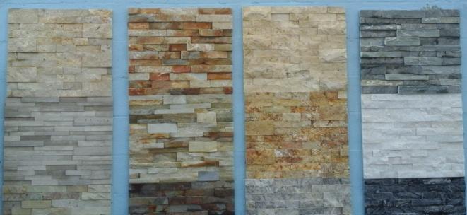Ledger Stone Veneer : Natural thin stone vs cultured veneer