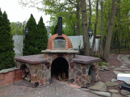 Brick Pizza Oven, Outdoor, Insulated, Wood Fired, Made In Portugal US  $1,500.00